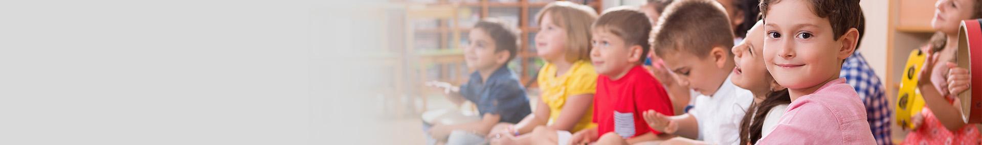 grupa przedszkolna dzieci